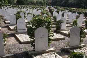 WWII Btitish troops cemetry
