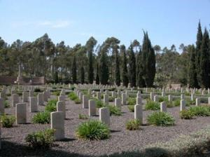The Commonwealth War Cemetery
