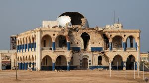 Massawa ruined Building