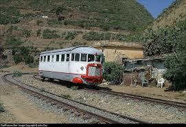 Littorina Fiat Railbus car Sicily